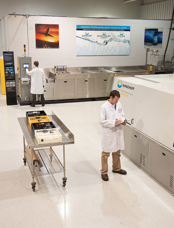CTG Tech Center - Cleanliness Validation Capabilities / Analytical Laboratory