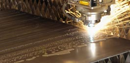In-house Sheet Metal Laser Cutting