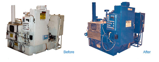 Equipment Rebuild and Refurbishment - Before and After 2